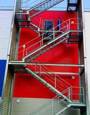 Испытания пожарных лестниц и ограждений