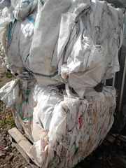 продам биг-бэги прессованные на переработку (отходы полипропилена)